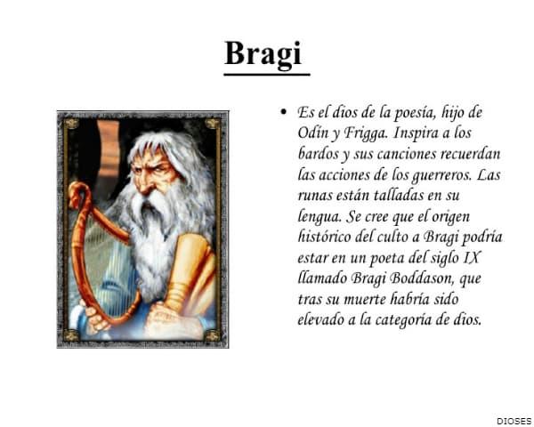DIOS BRAGI