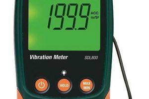 Imagen del medidor de vibraciones extech