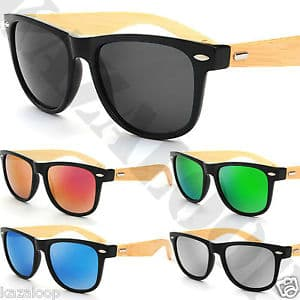 gafas de madera en oferta