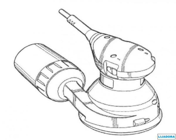 imagen de dibujo de una lijadora