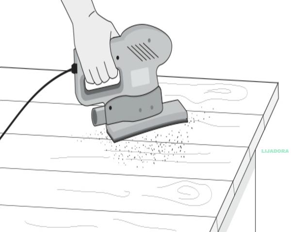 imagen dibujo lijar madera